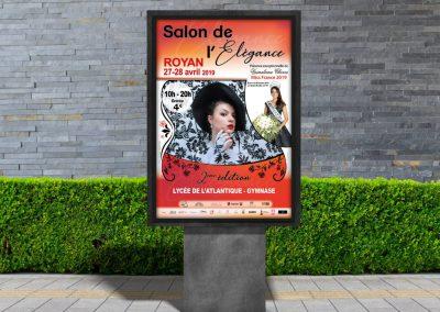 Impression grande affiche publicitaire sur Royan
