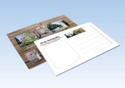 Impression carte postale personnalisée sur Saintes