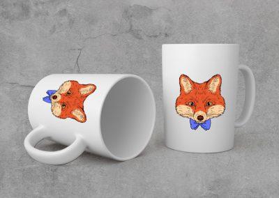 Impression personnalisée sur mug publicitaire sur Royan