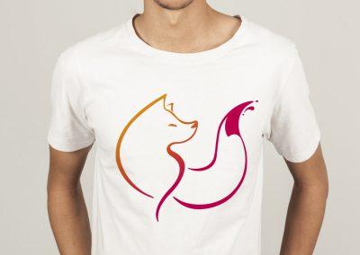 Impression de tee-shirt publicitaire sur Saintes